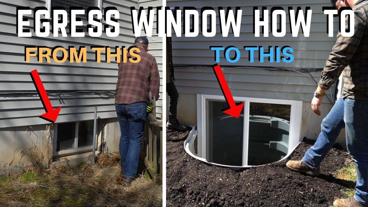 Photo of Installation des Egress-Kellerfensters | Wie geht das? DIY Heimwerker