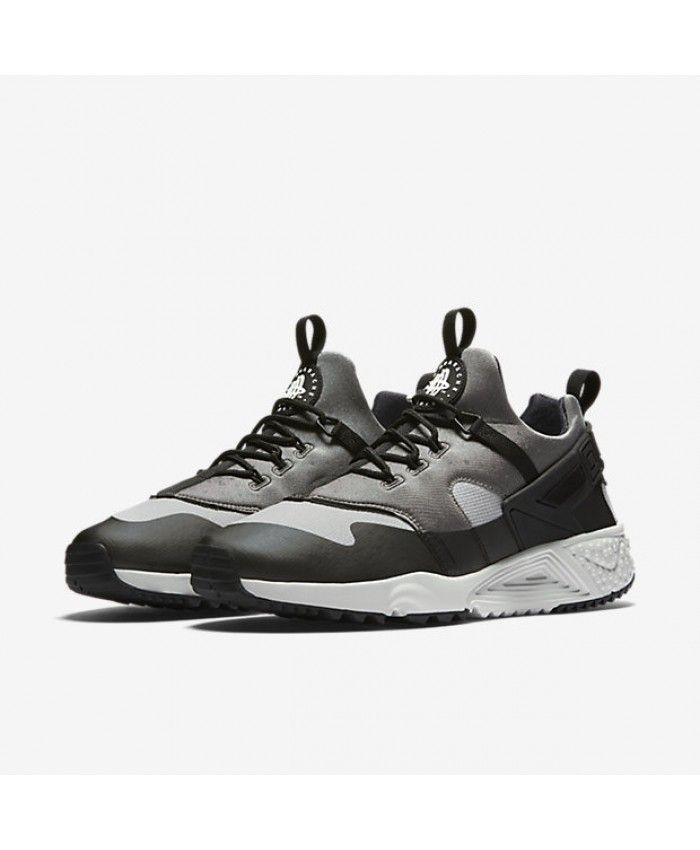 304913cd47e6 Nike Air Huarache Utility Base Grey Medium Base Grey Black Light Ash Grey