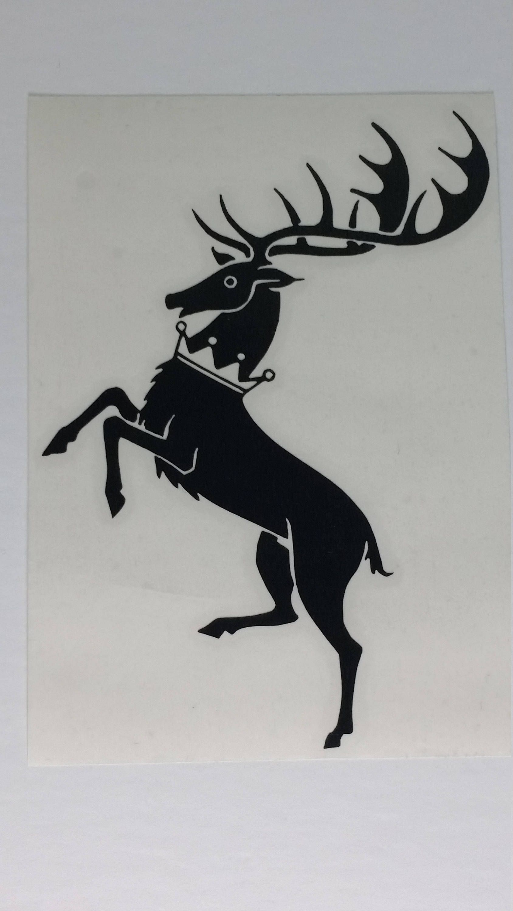 Game of Thrones House Baratheon Sigil Vinyl Decal by