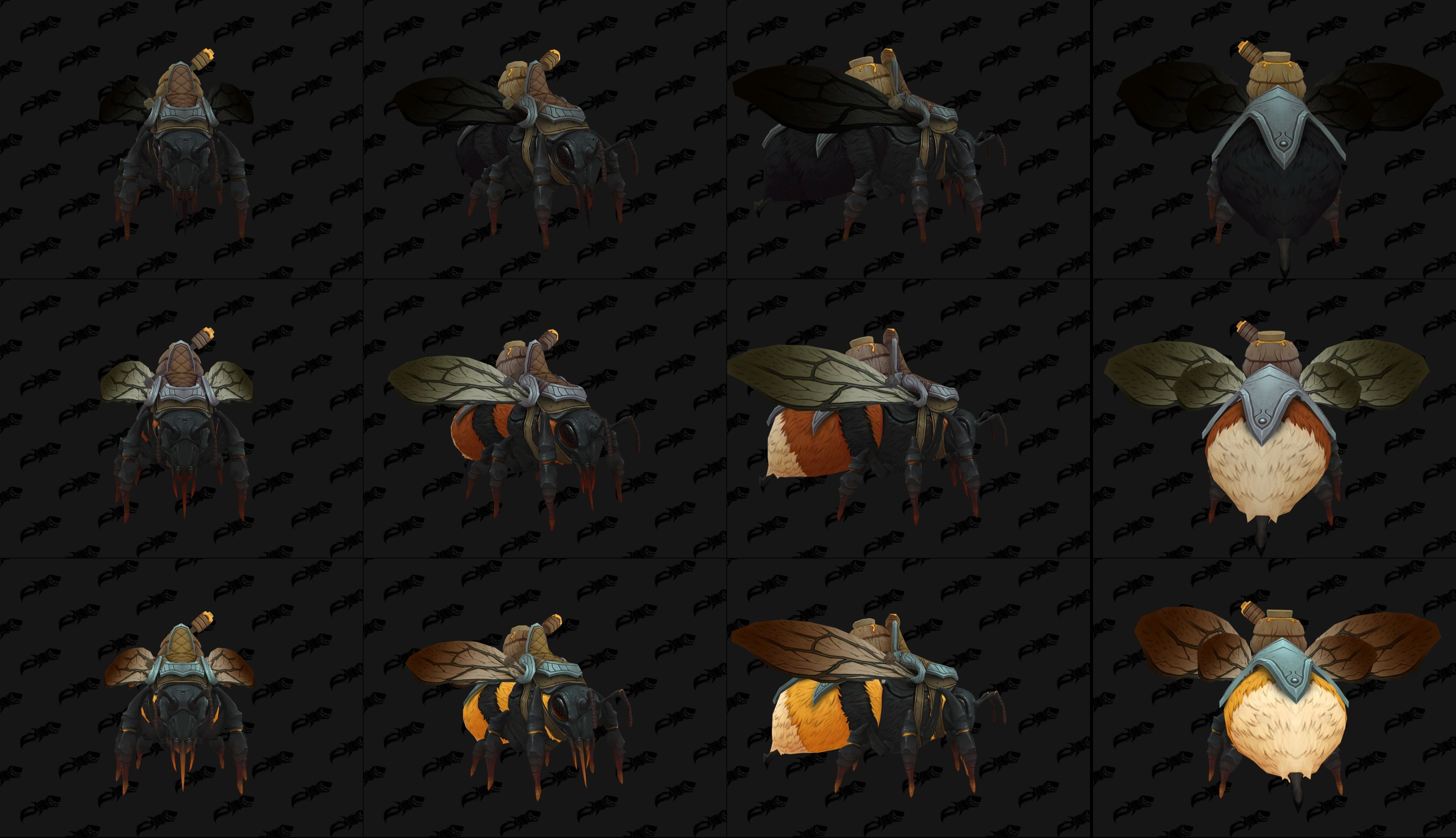 Battle for Azeroth Bee Mounts worldofwarcraft blizzard