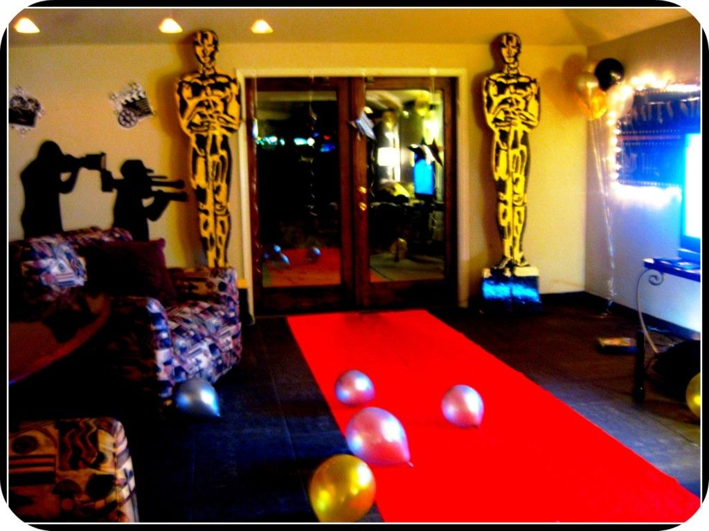 Oscar Themed Party Decoration Ideas Part - 39: Hollywood Theme