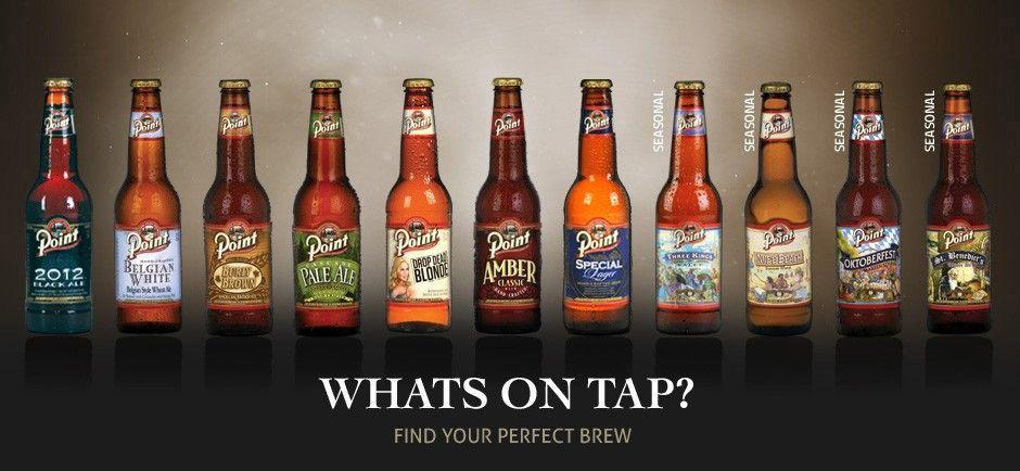 Steven's Point Beers