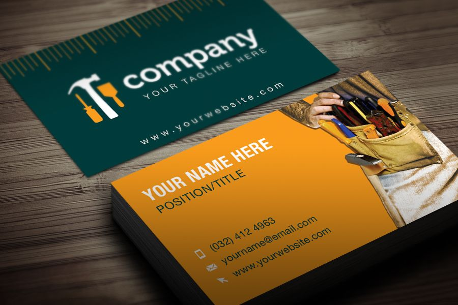 Services Business Card Templates And Psd Files Free Business Card Templates Business Card Template Vector Business Card