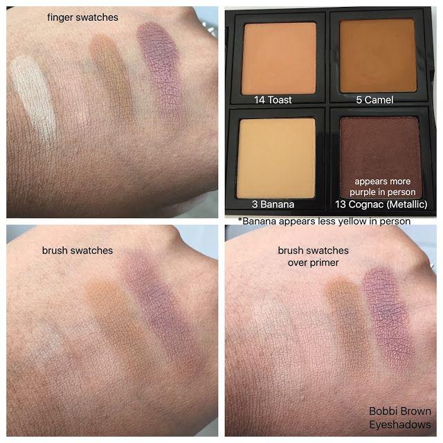 Bobbi Brown Eyeshadow Swatches Beauty Swatches Eyeshadow Swatch