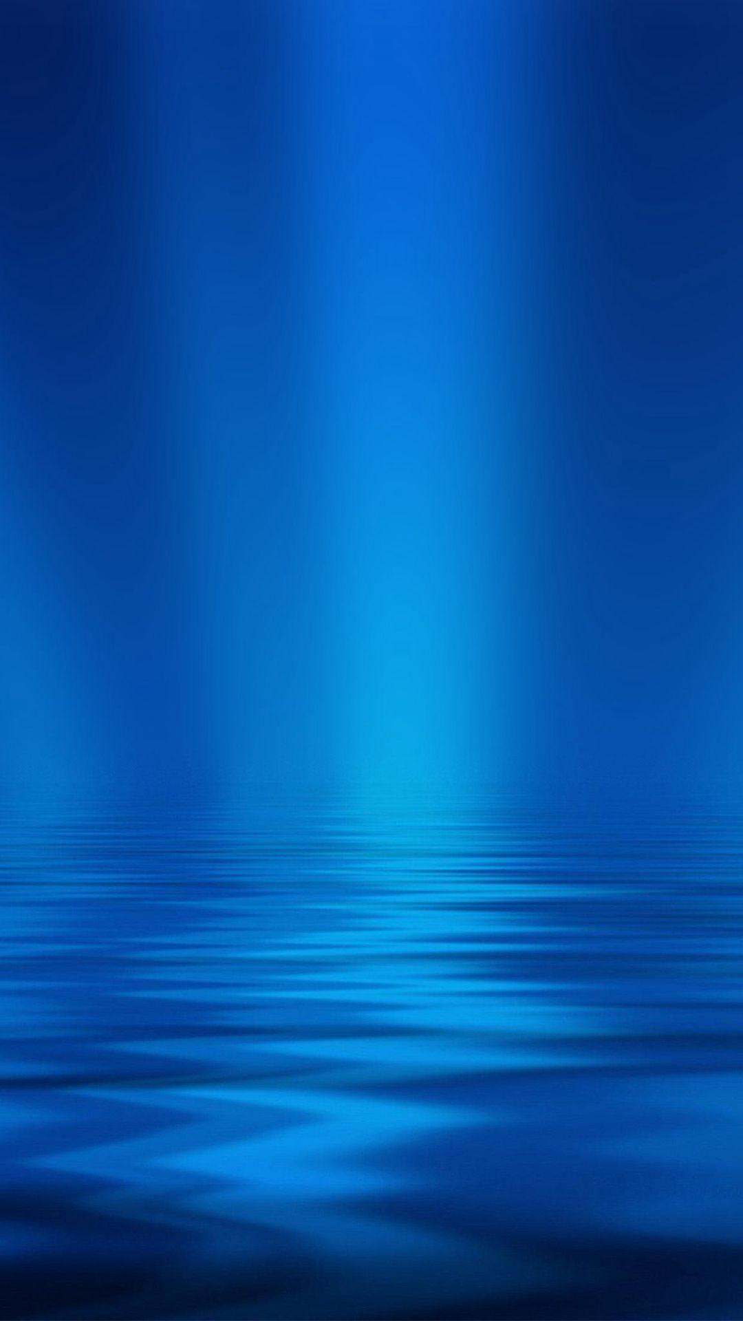 Wallpaper iphone sea - Sea Blue Ripple Pattern Iphone 6 Wallpaper