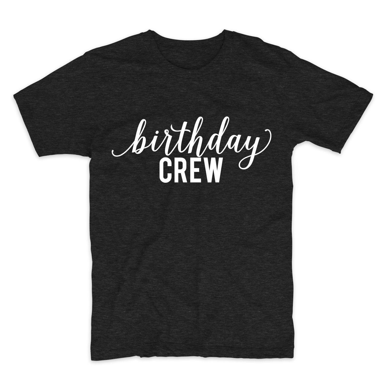Birthday Crew, Unisex Graphic T-Shirt