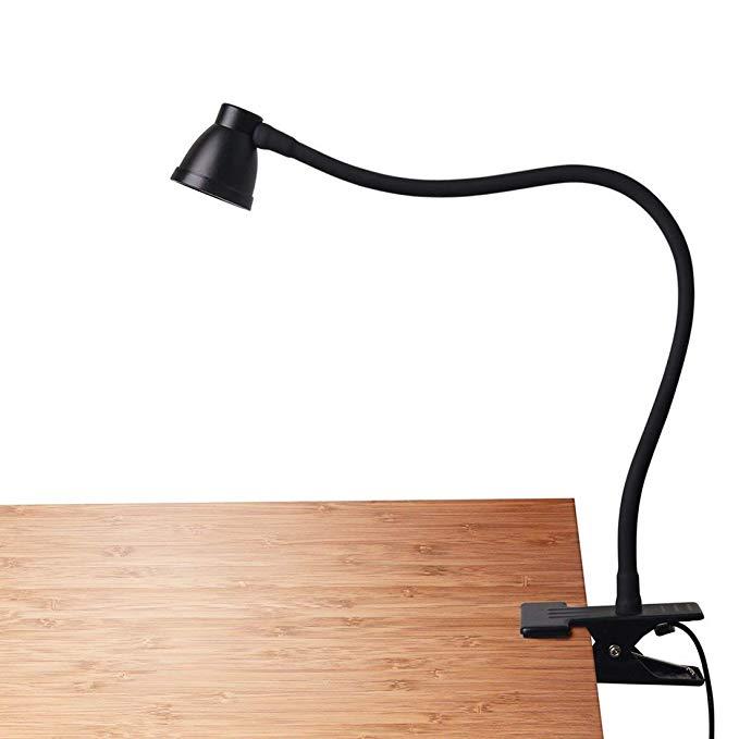 CeSunlight Clamp Desk Lamp, Clip on Reading Light, 3000