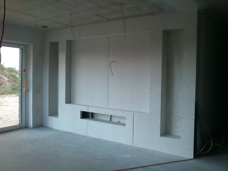bildergebnis f r tv wand trockenbau lounge pinterest wohnzimmer haus und w nde. Black Bedroom Furniture Sets. Home Design Ideas