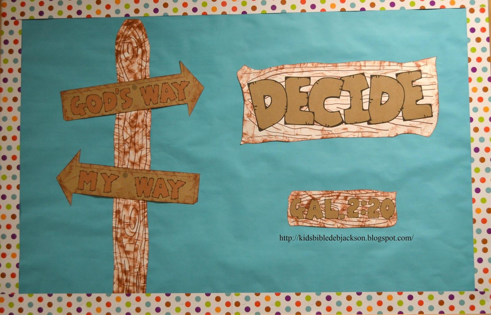 God S Way Or My Way Teen Bulletin Board And More With Printables