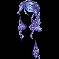 Chevelure Ondoyante Bleu Clair Słodki Flirt W 2019 Włosy