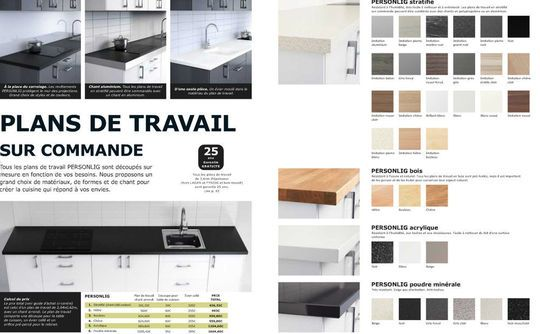 Cuisine Ikea  le meilleur de la collection 2013 - Hauteur Plan De Travail Cuisine Ikea