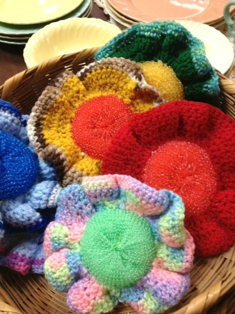 Crocheted Scrubbies | ~⌘~Crochet Everything and More ...