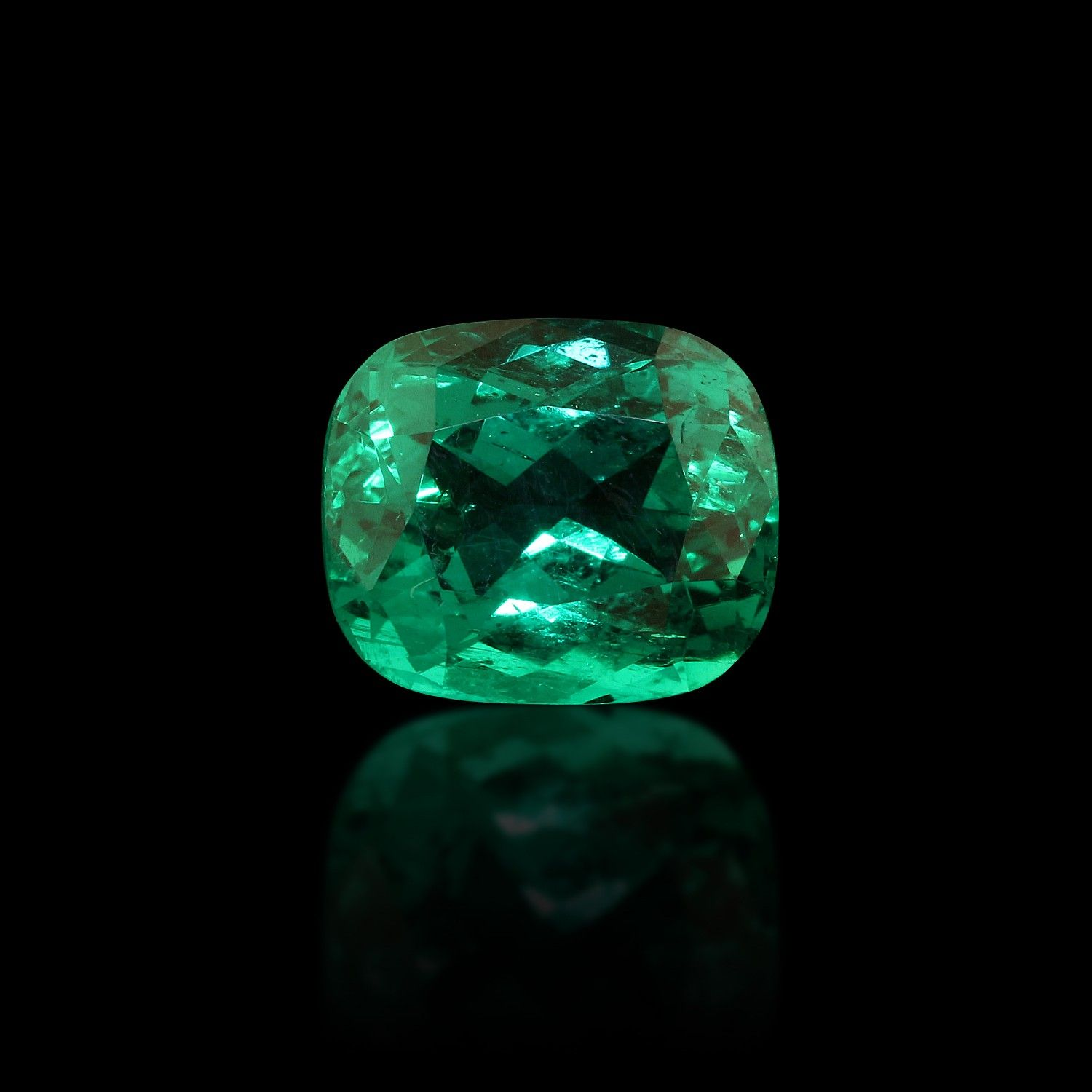 cut emerald antique engagement style diamonds cushion ring