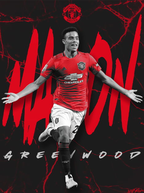 Mason Greenwood in 2020 Manchester united, Greenwood