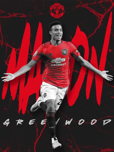 Mason Greenwood in 2020 Manchester united, Greenwood