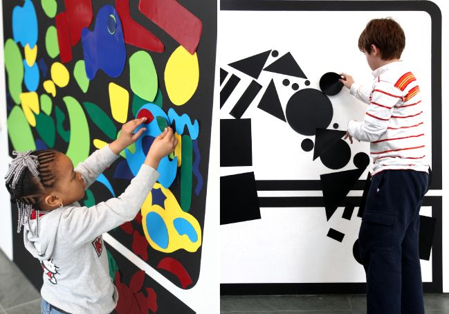 Moma Magnetic Moma A Graphic Look At Shape Lab Art Classroom Art Room Interactive Art