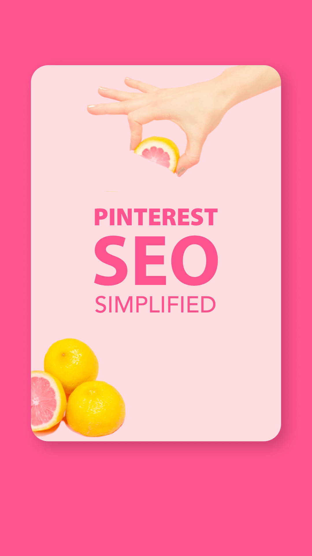 SEO Marketing Tips Pinterest SEO Simplified
