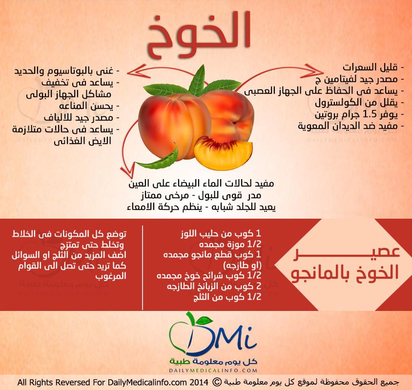 فوائد الخوخ Health Facts Food Health Fitness Nutrition Health Healthy