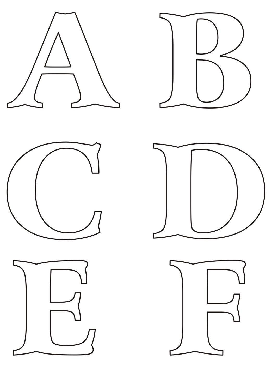 molde de letras - Buscar con Google