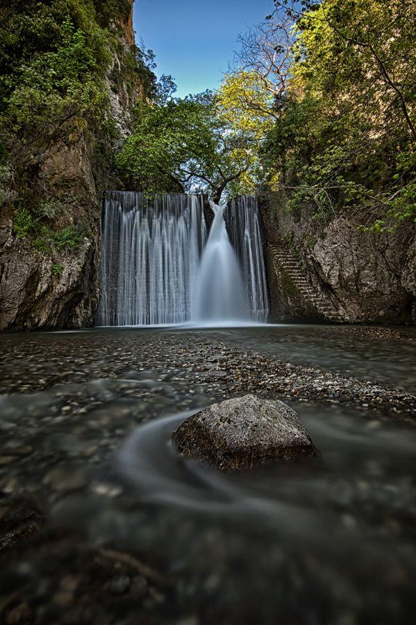 Waterfall by Panos Lahanas, via 500px