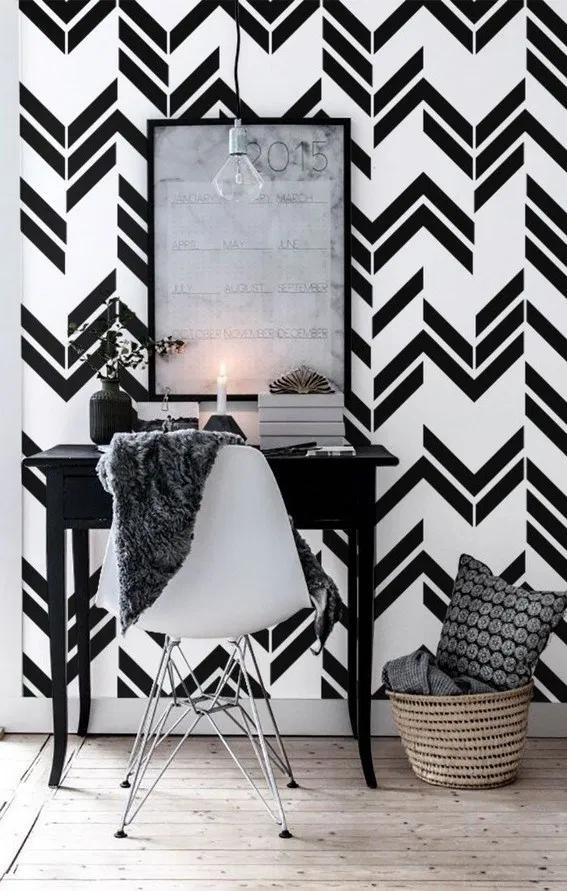 17 Wallpapers That Can Change The Atmosphere Of A Room Skrental Seni Dinding Dekor Dinding