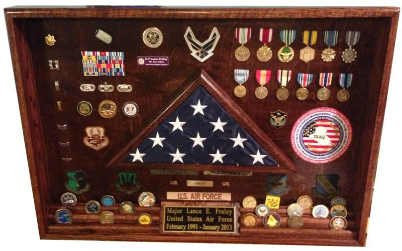 Air force shadowbox cool pinterest shadow box box for Air force decoration examples