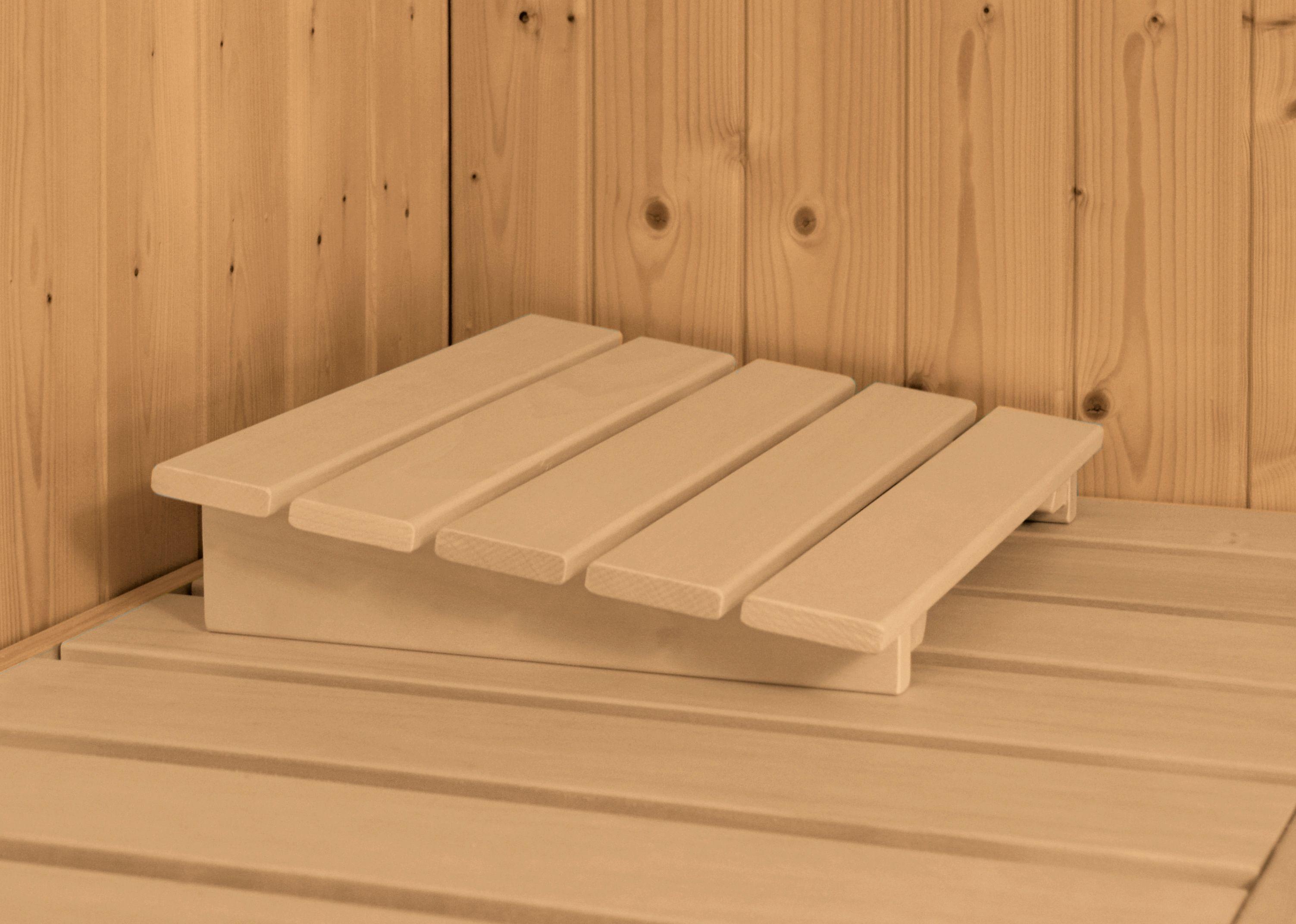 Karibu Sauna Sanna 2, 9-kW-Ofen mit integrierter Steuerung