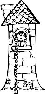Today S Freebie Clip Art Rapunzel Melonheadz