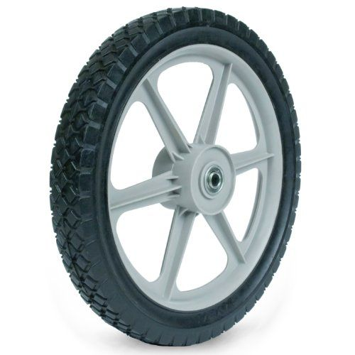 Martin Wheel Plsp14d175 14 By 175inch Plastic Spoke Semipneumatic Wheel For Lawn Mower 12inch Ball Bearing 238inch Centered H Wheel Rotary Mower Colorful Patio