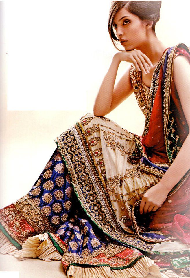 Latest Walima Bridal Dresses 2012 in Pakistan & India