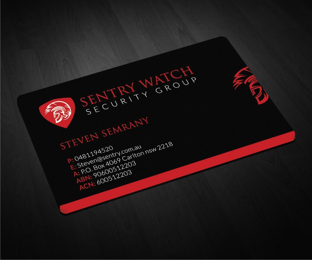 Get Our Printable Security Company Business Card Company Business Cards Examples Of Business Cards Security Companies