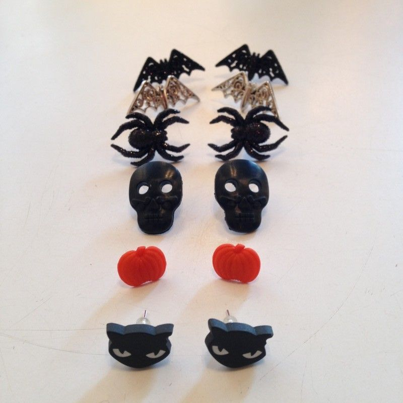 Scary Earrings from Lady Muck