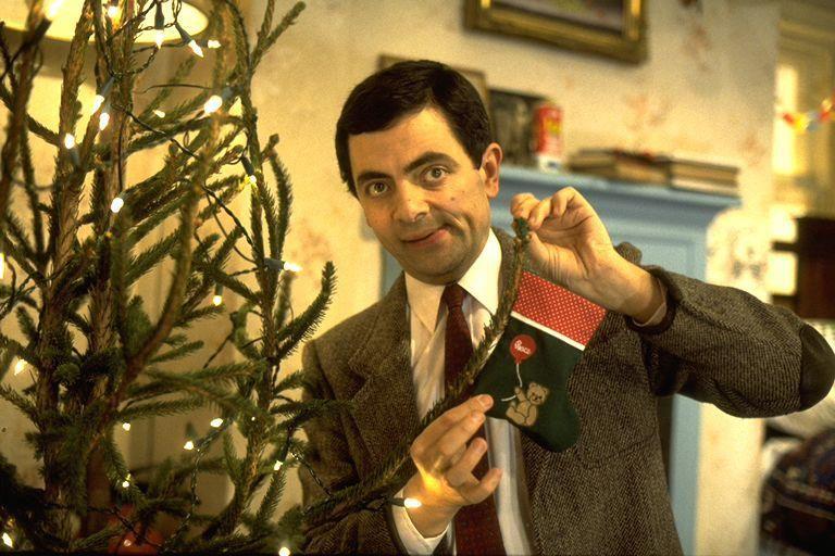 Mr Bean Christmas.Merry Christmas Mr Bean Mr Bean Mr Bean Couple