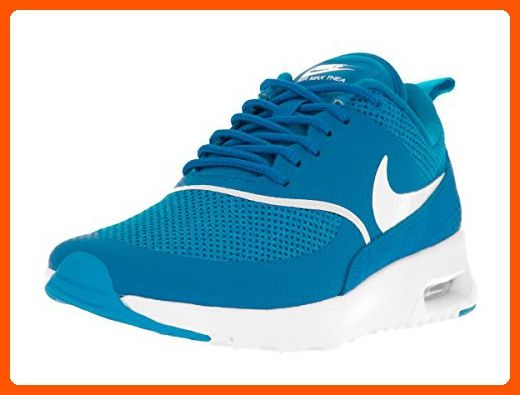 Nike Women's Air Max Thea Blue Spark/Summit White Running Shoe 6.5 Women US  -