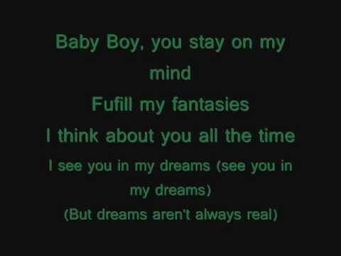 Beyonce Ft Sean Paul Baby Boy Lyrics On Screen Beyonce Lyrics Sean Paul Lyrics