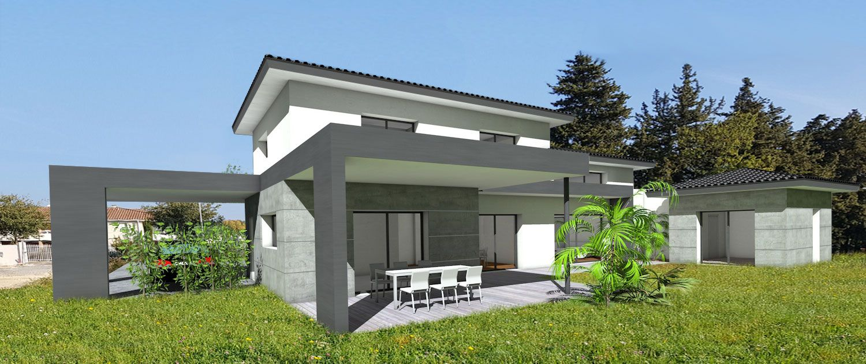 Atelier Scenario Architectes - Maison contemporaine à toit ...
