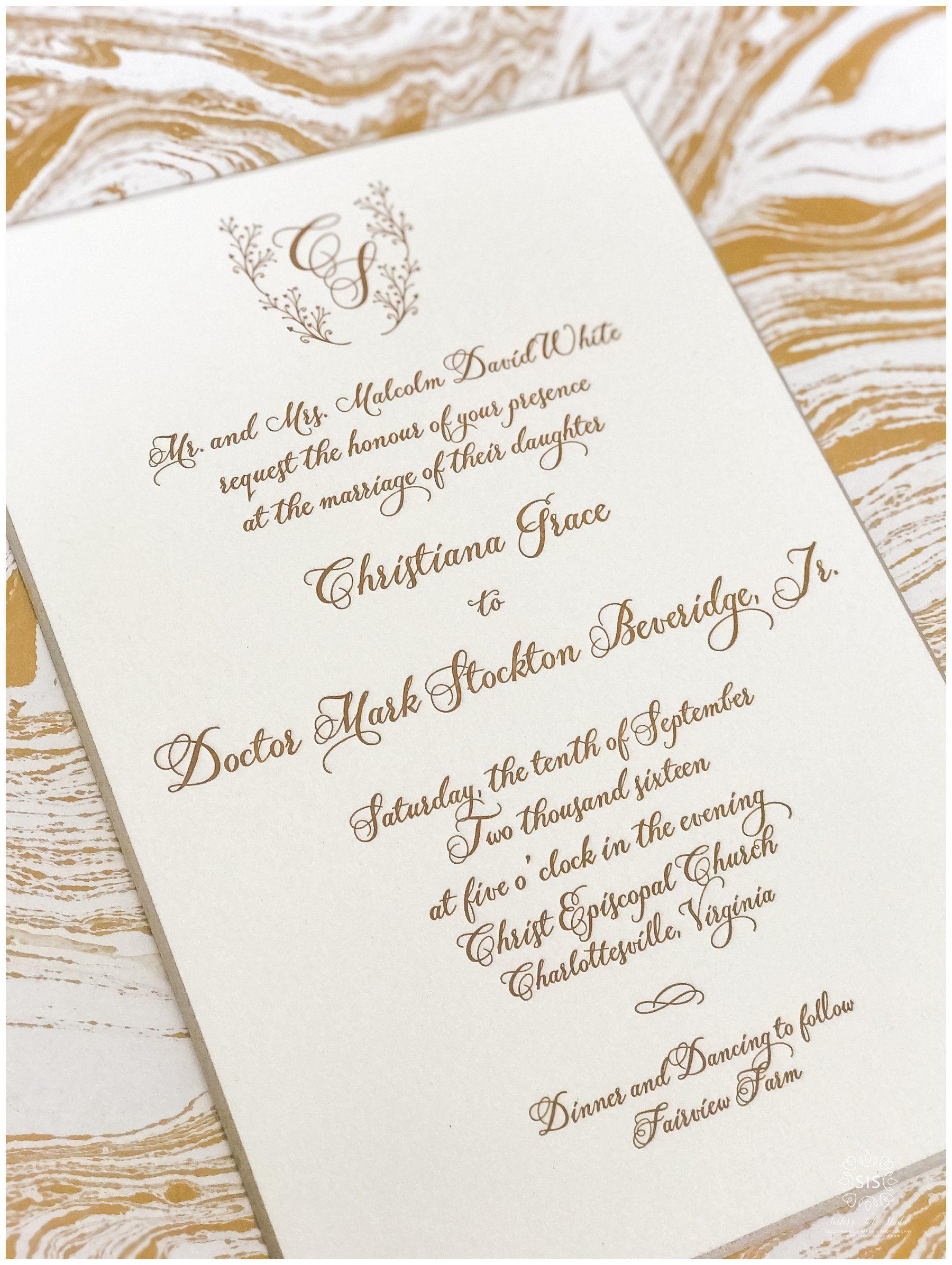 Pin by Sisters Ink Studio on Sisters Ink Studio Wedding Invitations ...