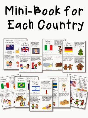 Christmas Around The World Activities And A Freebie Holidays Around The World Christmas In America World Thinking Day