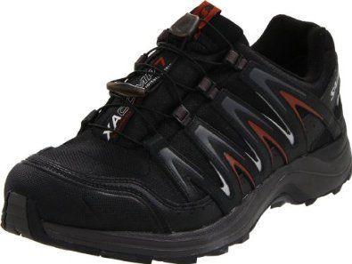 Salomon Men's XA Comp 7 WP Trail Running Shoe,Black /Autobahn/Deep Red,10.5 M US Salomon. $89.94