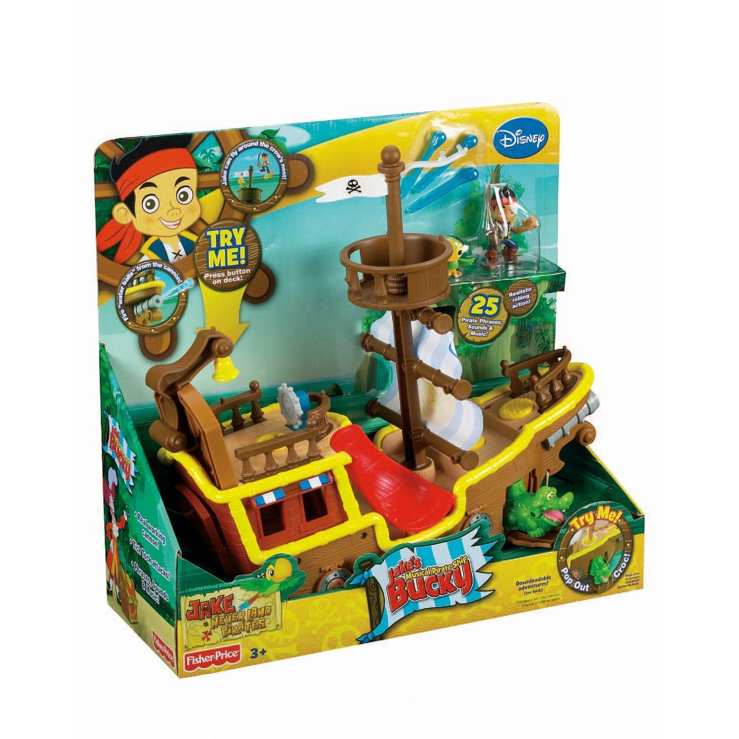 Top 10 Toys For 3 Year Old Boys My Favorite Pirate Ship