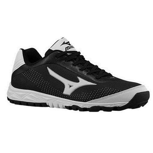 8e068514b38b Mens 159059  Mizuno Blaze Trainer 2 Men S Baseball Turf Shoes Nib Black  White Various