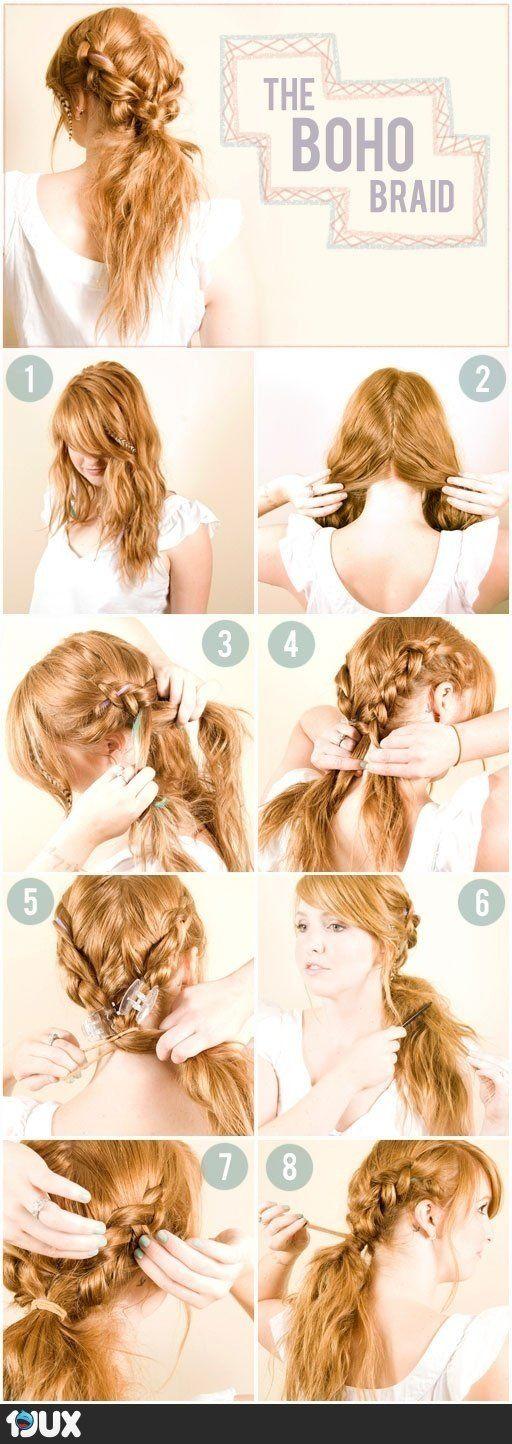 Simple Hair tutorial16