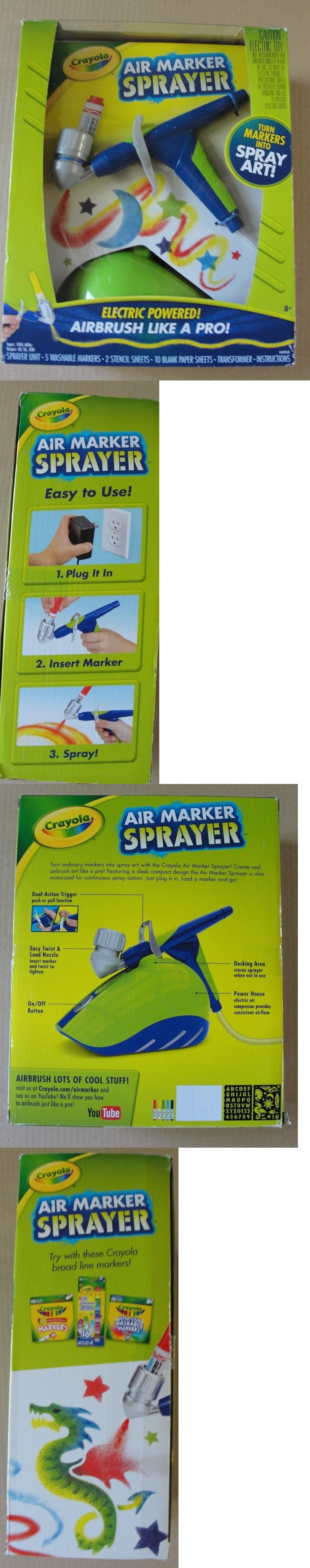 Pens And Markers 116656 Crayola Air Marker Sprayer Electric