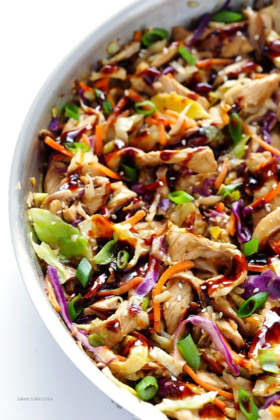 20minute moo shu pork or chicken  recipe  food pork