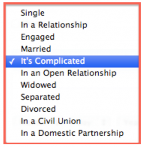 facebook its complicated
