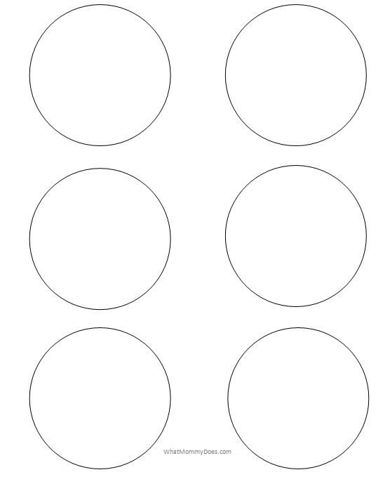 6 Inch Circle Template Free Printable Circle Templates Large And