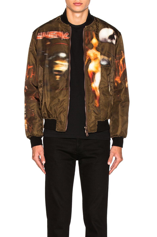 Givenchy Heavy Metal Bomber Jacket Givenchy Cloth Bomber Jacket Printed Bomber Jacket Jackets [ 1440 x 953 Pixel ]