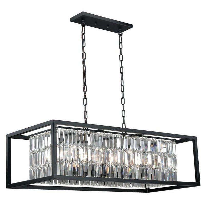 Ceiling Lights Linear Chandelier Bronze Lighting Pendant Light Fixtures