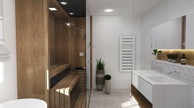Salle de bain  déco zen et nature