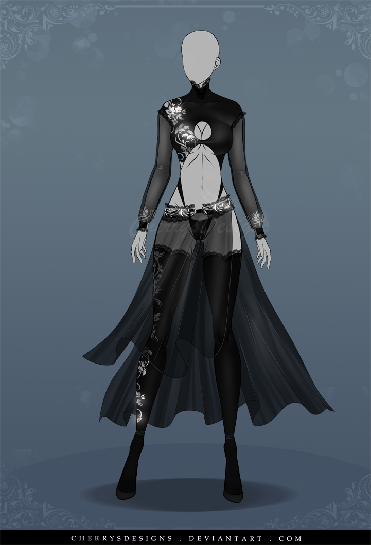(OPEN) Auction Adopt Outfit 541 by CherrysDesigns